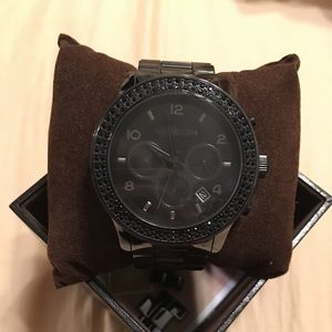 *PRICE REDUCTION* Michael Kors Black Ceramic Watch